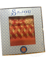 Damas Red - Three Printed Swatches in Gift Box
