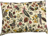 Toile de Jouy Coquecigrues  - Cross Stitch Pillow Kit