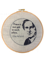 Wisdom Embroidery Kit - Elie Wiesel
