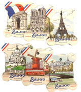 Views of Paris Thread Cards