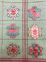 Bayeux Thread Cards - Vintage Wallpaper