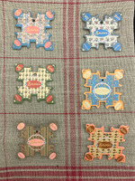 Cabourg Thread Cards - Tiny Floral Motifs