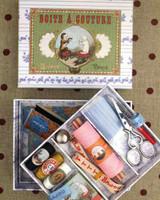 Sewing Set - Small Model No. 3 Dog & Cat