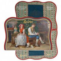 Vintage Needle Folding Card - Daoulas