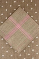 Pink French Linen Tea Towels
