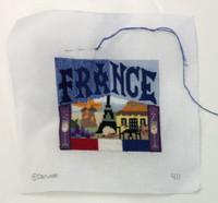 Needlepoint Postcard Canvases