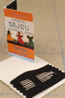Embroidery Needle Booklet  - Package of Six Needles -Three Sajou Girls