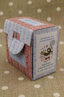 Sajou Cross Stitch Kit - Coquecigrues Indian Toile de Jouy Pattern - Box to Embroider