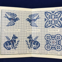 Sajou Sampler - Tea Towel with Silk and Metallic Thread