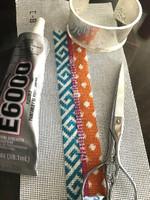 Bracelet Cuff Needlepoint Kit - C8 Pattern