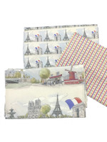 Ma Belle Ville de Paris - Three Printed Swatches in Gift Box