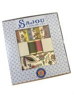Coquecigrues  -  Printed Fabric & Coordinating Threads