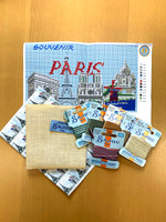 "Paris ""Postcard"" Small Cushion"