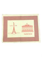 Paris Monuments Place Mats -  Series 1