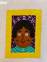 """""""FAITH"""" Needlepoint Canvas by Terry Gaskins"""