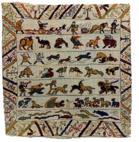 Battle of Hastings Animals Embroidery Kit - Bayeux Tapestry