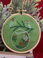 Two Love Birds  Ornament