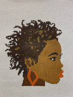 Portrait of a Black Woman