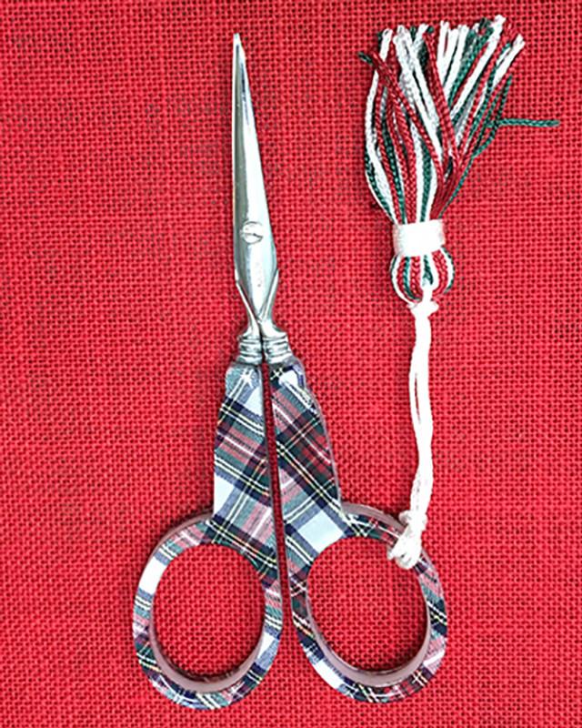 Tartan Scissors
