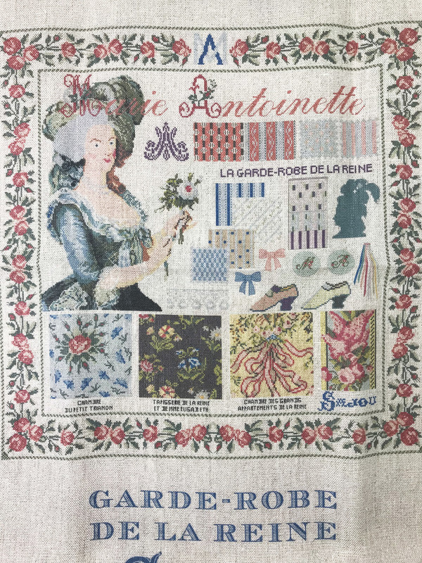 Sajou French Linen Tea Towels - Marie-Antoinette