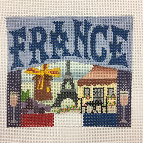 Stitching a Postcard - Favorite Memories