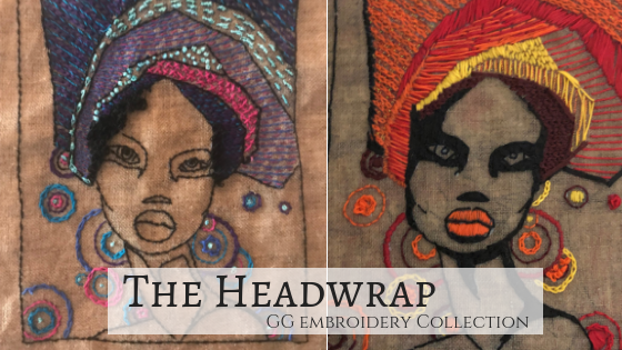 Feature of the Week | The HeadWrap from the GG Embroidery Collection