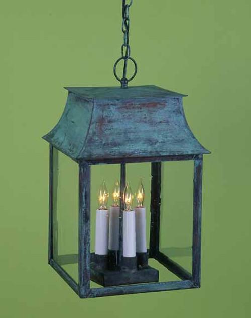 Federalist Mansard Hanging Lantern Medium