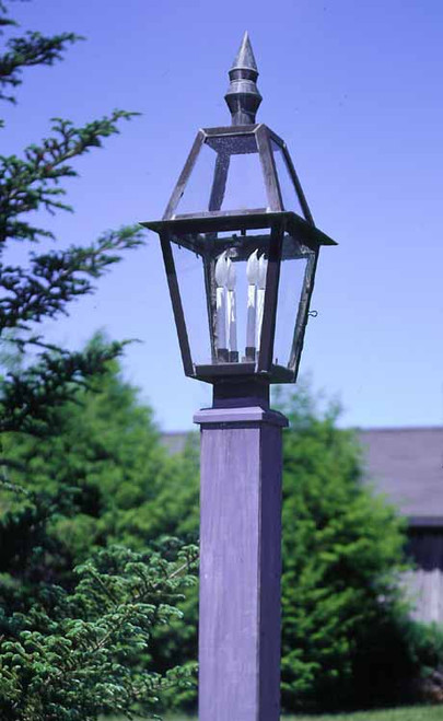 Colonial Ashley House Post Lantern Large
