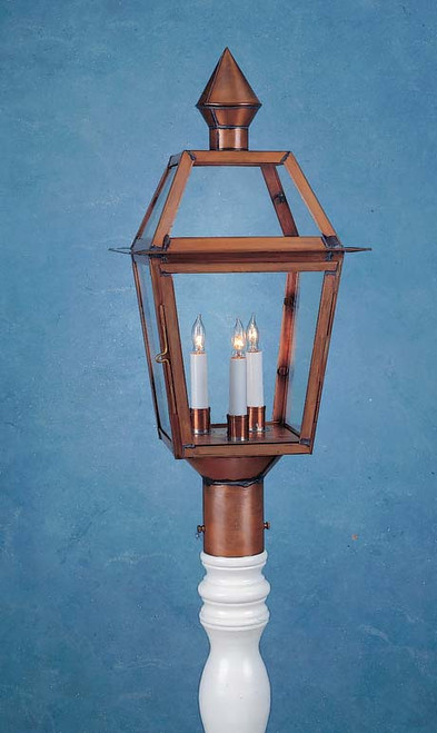 Colonial Ashley House Post Lantern