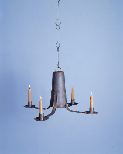 North Bennington Church Shaker Chandelier