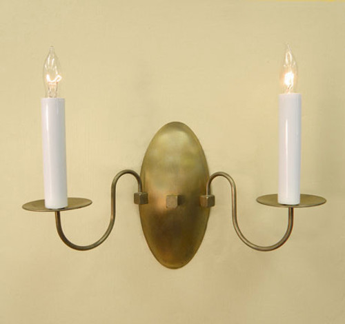 Williamsburg Keeping Room Sconce - Two Arm