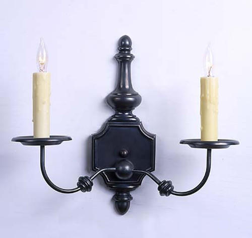 Williamstown Colonial Revival Sconce - Two Arm