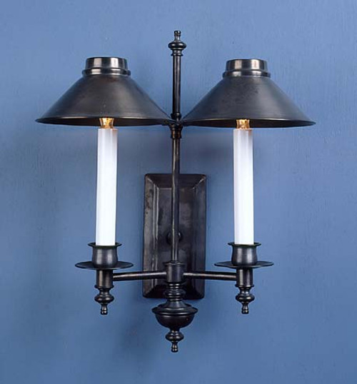 Princeton Library Sconce - Two Arm