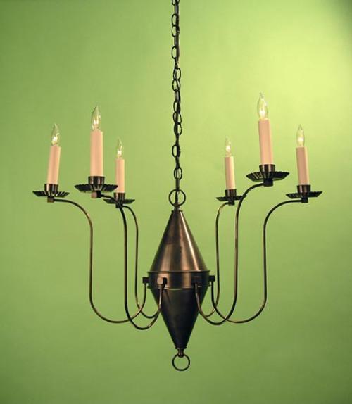 Winterthur Chandelier - 6 Light