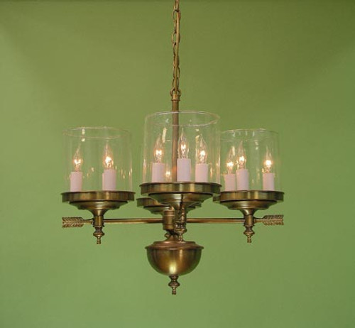 Berkshire Four Arm Chandelier