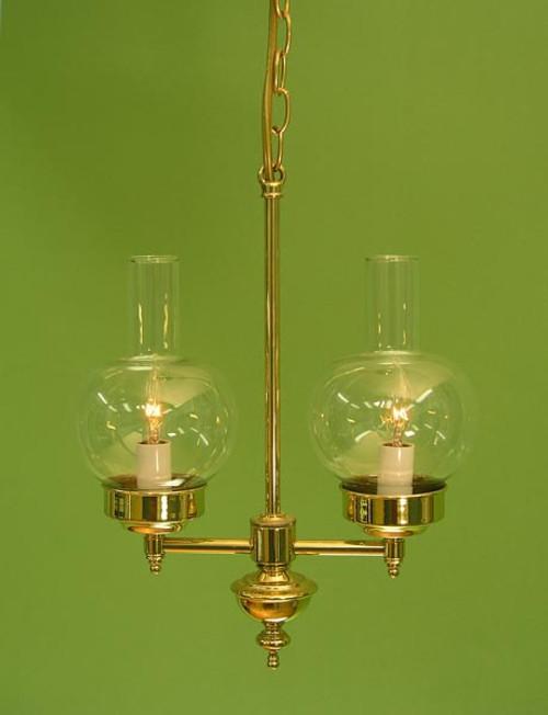 Victorian 2-Light Chandelier