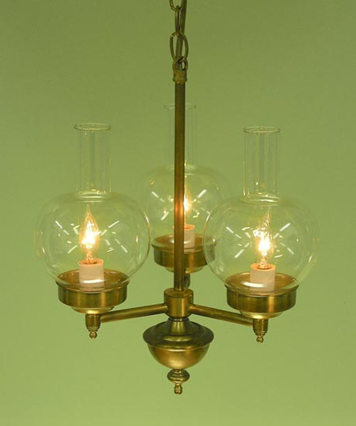 Victorian 3 Light Chandelier