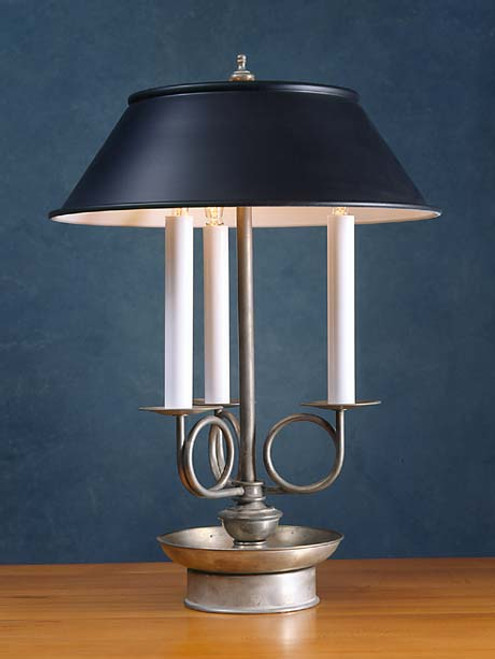 Georgian Trumpet Arm Table Lamp