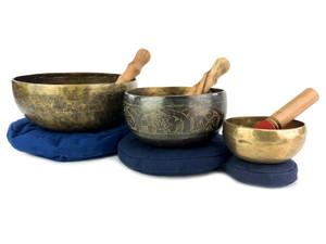 Himalayan Singing Bowl Sets