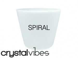 Empyrean Spiral Crystal Singing Bowls