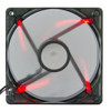 Red LED fan