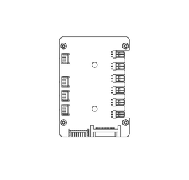 Cosmos C700P / MC500M Control PCB (C2055-02-SJ; Version 2)