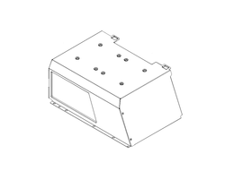 H500M PSU Cover plate