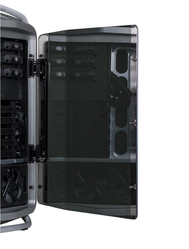 Cosmos II and Cosmos II 25th Anniversary Edition Tempered Glass Side Panel (Left) - EOL!