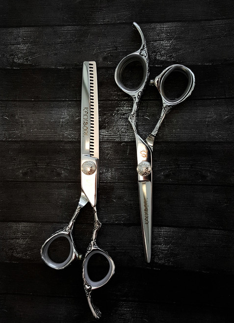 Kamisori Diablo Hairdressing and Barbering Shears Set