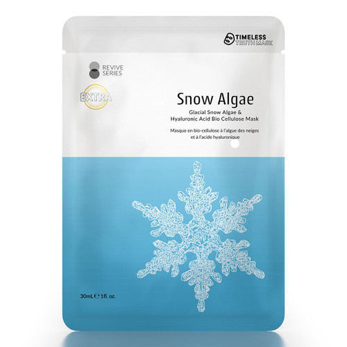 Timeless Truth Glacial Snow Algae Bio Cellulose Mask
