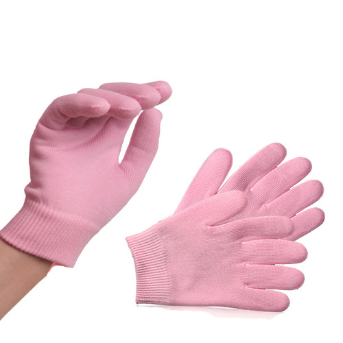 Manicure Moisturising Gloves with Gel Inserts