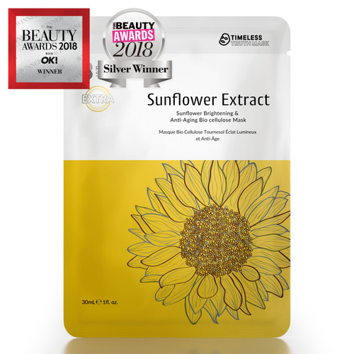 Timeless Truth Sunflower Brightening Anti-Ageing Bio Cellulose Mask