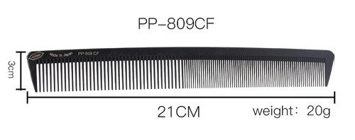 100% Carbon Rigid Japanese Hair Comb