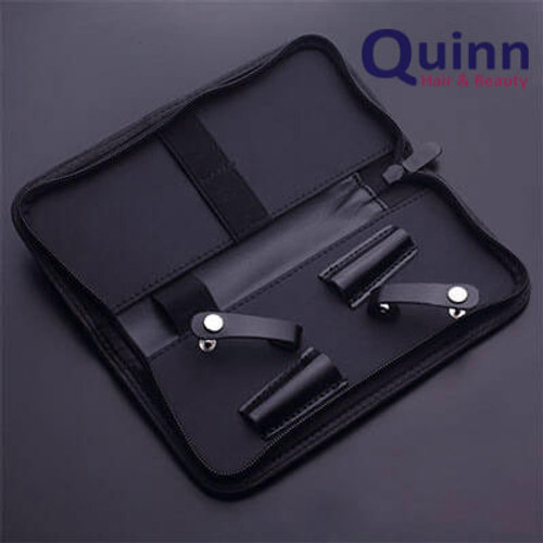 QUINN 2 Scissor Hairdresser  Barber Shears Zip Case